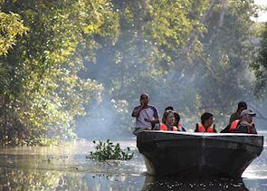 Boat trip on the Kinabatangan River, Malaysian Borneo