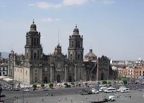 The Zocalo, Mexico City