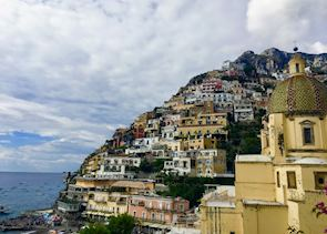 Views of Positano, Amalfi Coast