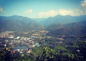 Views of Mae Hong Son town