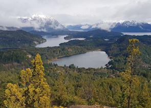 Bariloche - view from Cerro Catedral