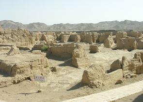 Jiaohe Ruins, Turpan
