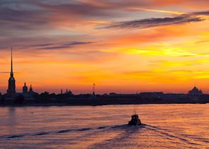 The river Neva, St Petersburg