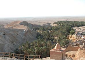 Chebika Oasis near Tamerza, Tunisia