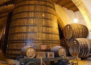 Wine barrels, Marsala