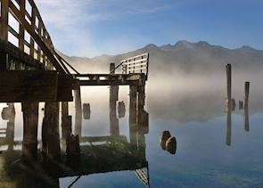 Kinloch jetty, Glenorchy, New Zealand