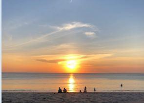 Jimbaran Bay Sun set