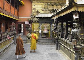 Temple near Durbar Square, Kathmandu, Nepal