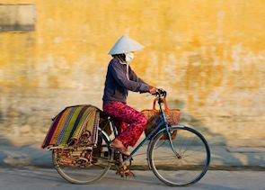 Local cyclist, Hoi An