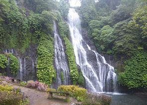 Banyumala Twin Waterfall near Munduk