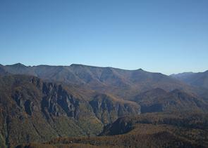 Views from the foot of Mt Kurodake, Sounkyo, Japan