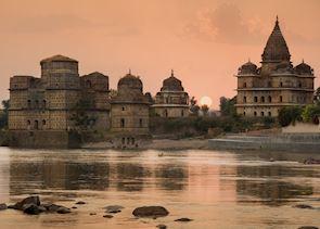 Temples at Orchha, India