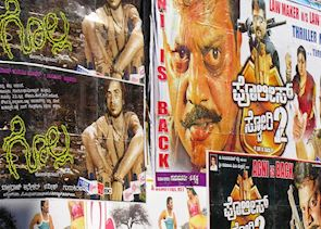 Bollywood posters, Bangalore