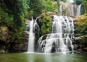 Nauyuca waterfall near Uvita, Costa Rica