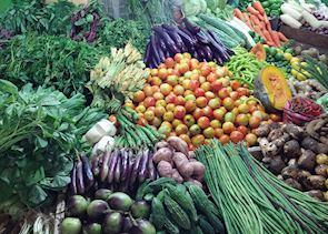 Farmer's market, Manila