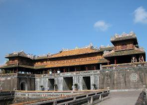 Ancient Citadel,  Hue, Vietnam