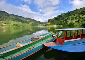 Boat travel in northern Laos, Phongsaly