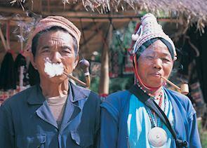 Couple from the Akha tribe, Chiang Rai