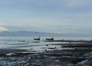 Crab fishing, Kep, Cambodia