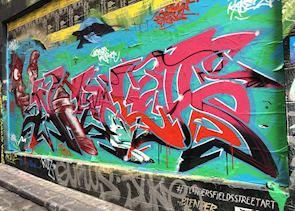 Laneway graffiti, Melbourne