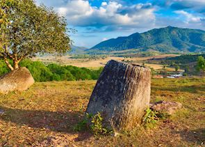 Plain of Jars, near Phonsovan