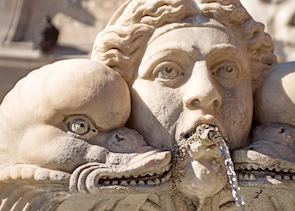 Fountain by the Pantheon, Rome