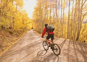 Mountain Biking near Aspen