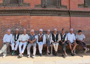 Gentlemen in Patan