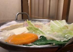Fukuoka chicken hotpot 'mizutaki'
