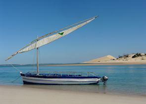 Dhow cruise, Bazaruto Archipelago, Mozambique