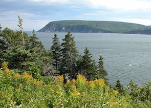 View of Cape Smokey from Keltic Lodge