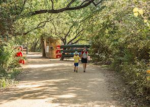 Walking trails in Austin