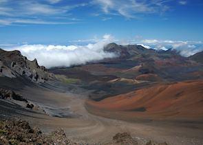 Haleakala volcano, Maui