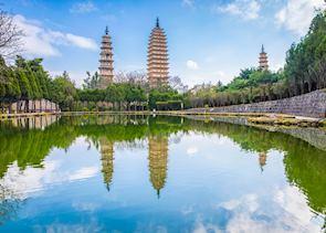 Three Pagodas , Dali