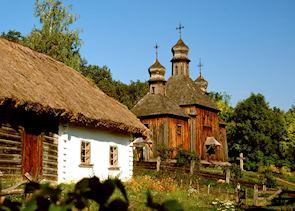 Pyrohovo Museum of Folk Architecture, Kiev, Ukraine