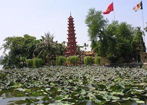 Pagoda in Hanoi