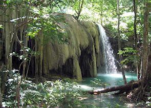 Waterfall on Moyo Island