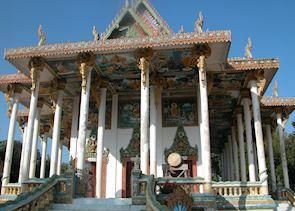 Wat Ek Phnom, near Battambang, Cambodia