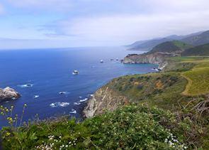 Highway 1, near Monterey Bay, California
