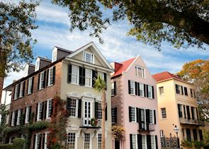 Houses in Charleston's Historic District