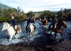 Riding at Estancia Huechahue, San Martin de los Andes