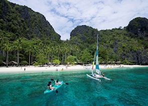 Activities in the El Nido, Philippines