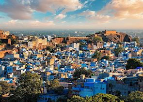 Jodhpur, the blue city