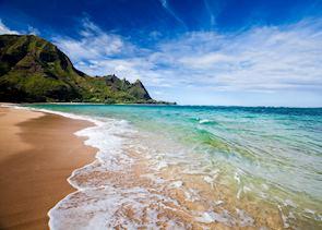 Makua Beach in Kaua'i
