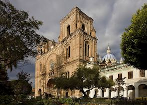Cuenca's New Cathedral on the main square