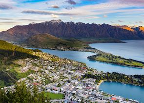 The view from Bob's Peak, Queenstown