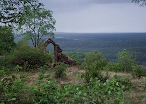 View from one of the Jhin Jhin hills at Satpura