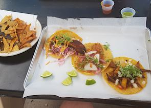 Santa Fe has excellent Mexican food