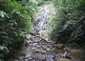 Chorro Macho waterfall, El Valle
