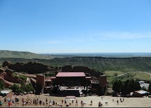 Red Rocks Amphitheatre, Denver, USA